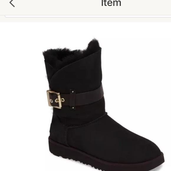 UGG Shoes - Ugg Black Suede Jaylyn Boots 6 US / 37 EU / 4.5 UK